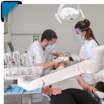 Imatge d'un pacient de la Clínica dental SERVEIS DENTALS SALT